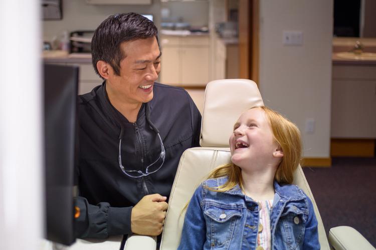 Wisconsin Rapids smiling braces patient