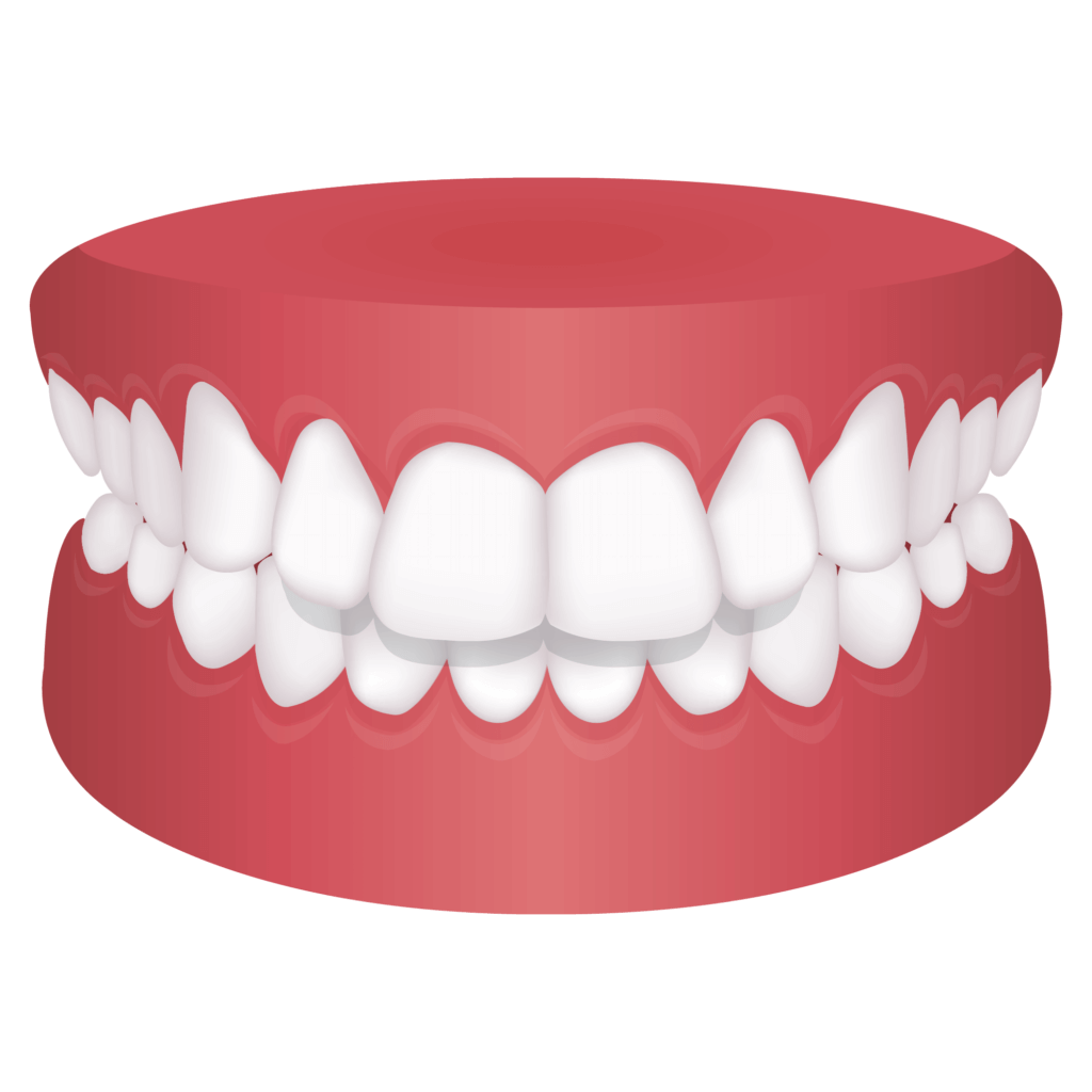 Mouth with protrusion